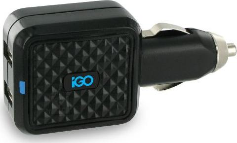 Pataco\Aquip iGo autolaadija Dual Charger, 2xUSB, 4,2A EOL