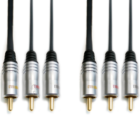 Profigold Profigold PGV5305 Composit + audio 3 RCA 5m EOL