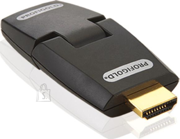 Profigold Profigold PROD102 adapter HDMI pesa - HDMI otsik, 180kraadi nurk EOL