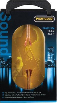 Profigold Profigold PROR72104 kõlarikaabel 2x1,5mm²  transparent 10m