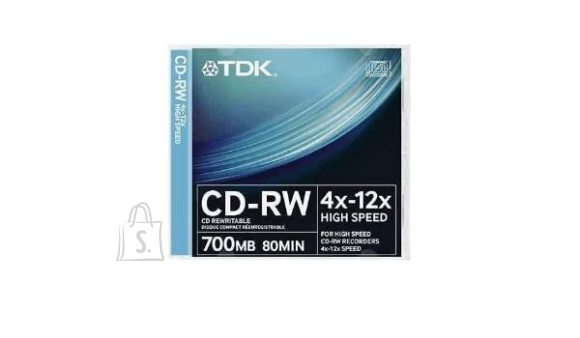 TDK TDK CD-RW 12x 80min/700MB jewel EOL