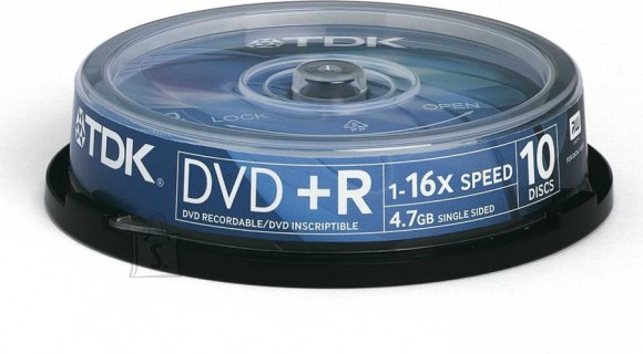TDK TDK DVD+R 4,7GB/16x 10-torn