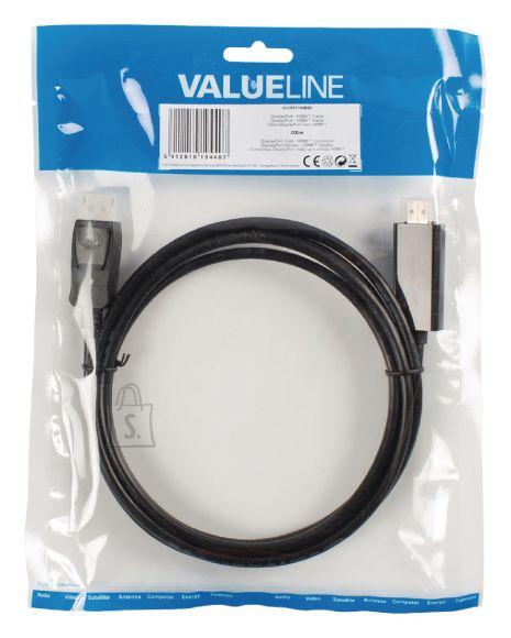 Valueline Valueline VLCP37100B20 DisplayPort otsik - HDMI otsik, 2m