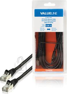 Valueline Valueline VLCB85110B50 FTP Cat5e RJ45-RJ45, must, 5m