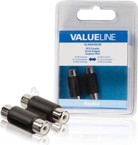 Valueline Valueline VLAB24952B 2xRCA pesa - 2xRCA pesa