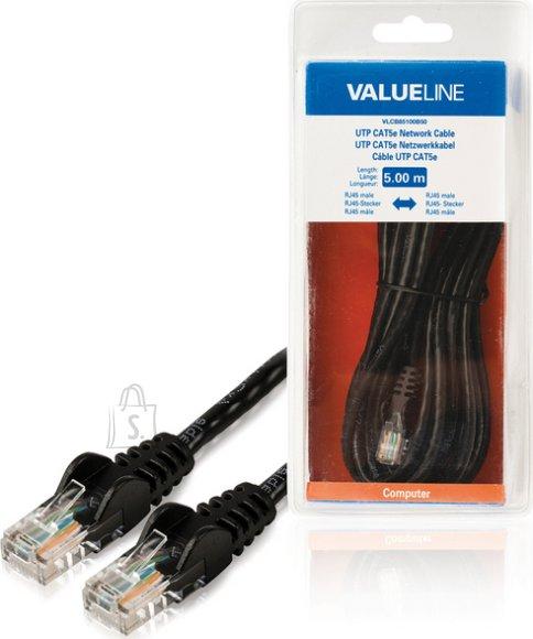 Valueline Valueline VLCB85100B50 võrgukaabel Cat.5E 2xRJ45 otsik 5,0m