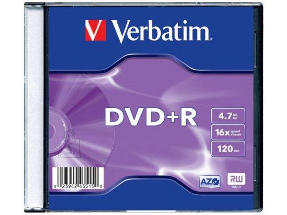 Verbatim Verbatim DVD+R 4,7GB/16x slim 1tk.