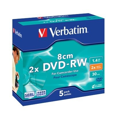 Verbatim VERBATIM DVD-RW mini 1,4GB 2x slim