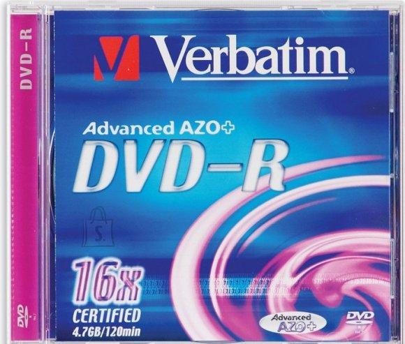 Verbatim Verbatim DVD-R 4,7GB/16X, jewel karp EOL