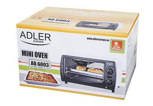 Adler Adler AD6003 Elektriahi mini 9L 1000w valge