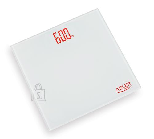 Adler Adler AD8138 vannitoakaal elektrooniline max 150kg, valge EOL