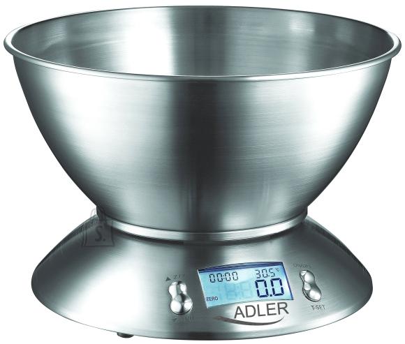 Adler Adler AD3134 Köögikaal anumaga, max 5kg, roostevaba teras