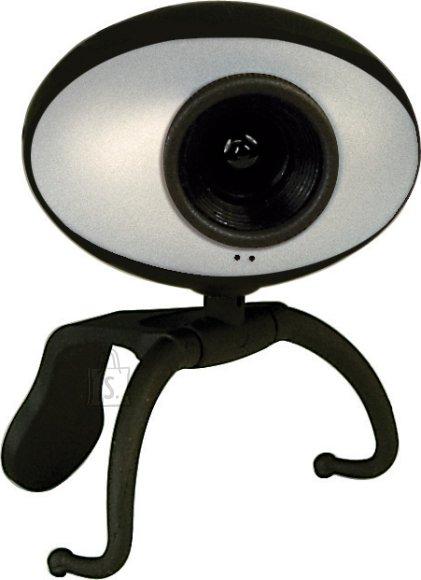 Sweex Sweex veebikaamera 0,3MP must/hõbe EOL