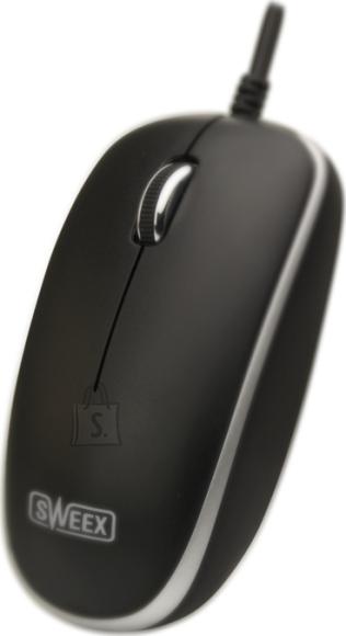 Sweex Sweex MI102 USB arvutihiir must/hõbe EOL