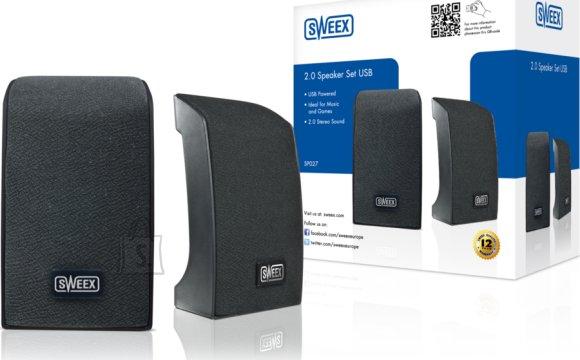 Sweex Sweex USB kõlarid 2.0 mustad