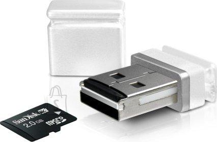 Sweex Sweex microSD nano kaardilugeja USB, valge EOL