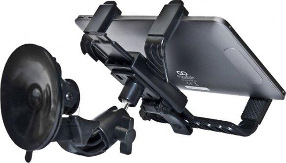 Goclever GoClever tahvelarvuti kinnitus autosse klaasile + seljatoele EOL