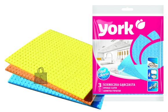 York York käsnlapp, 3tk