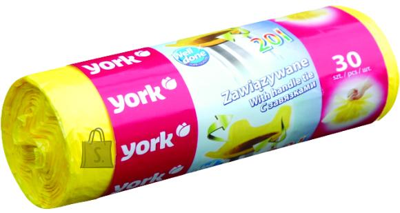 York York seotavad prügikotid 20L/30tk