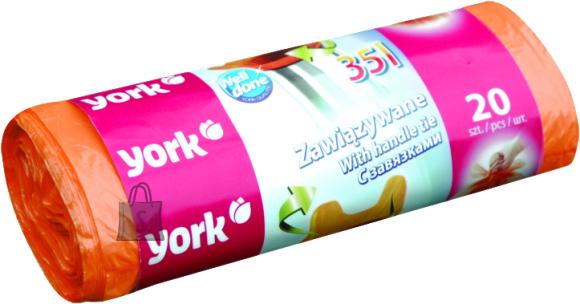York York seotavad prügikotid 35L/20tk