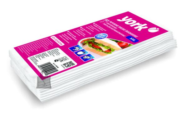 York York võileiva paberkott XXL 50 tk