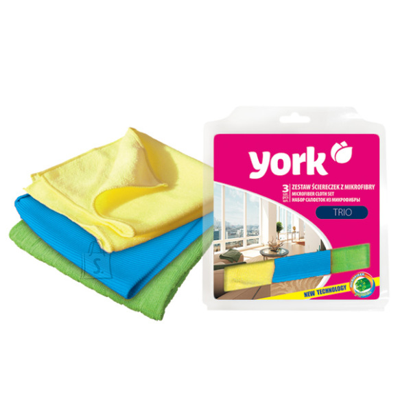 York Mikrofiiberlapid 3tk York