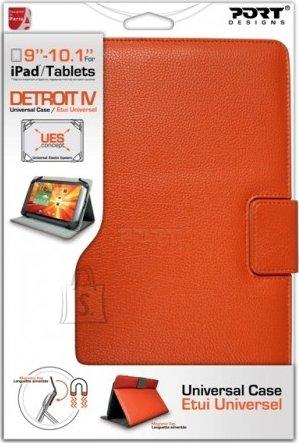 "Port Designs Port Designs tahv.arv.kaaned""Detroit IV""univers.10.1"",kunstnahk,oranž EOL"
