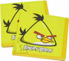 Amscan Angry Birds Salvrätikud 33x33cm 16tk/pk.