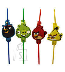 Amscan Angry Birds Joogikõrred 8tk/pk.