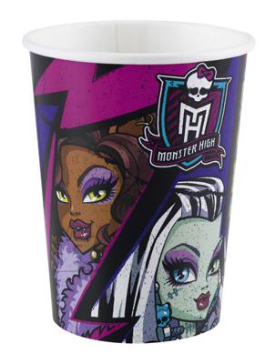 Amscan Monster High 2 joogitopsid 266ml/8tk.