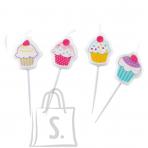 Amscan Cupcake Joogikõrred 8tk/pk