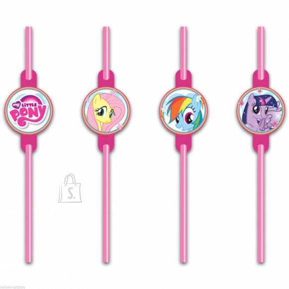Amscan My Little Pony Rainbow Joogikõrred 8tk/pk