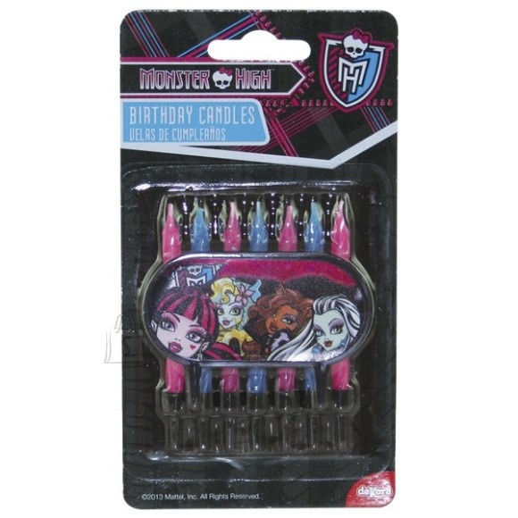 Dekora Monster High Tordiküünlad 7tk/pk.