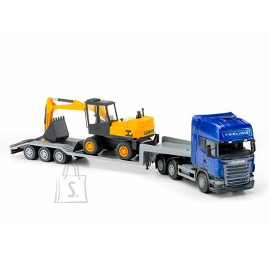 Emek Scania treilerauto 70cm ja ekskavaator 30cm