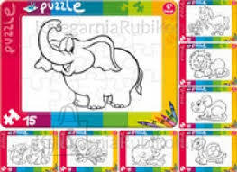 Kukuryku Värvi ise puzzle (3 erinevat)