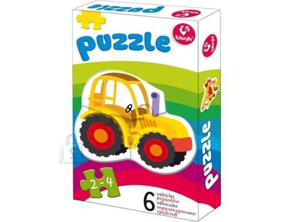 Kukuryku Puzzle autod (6 erinevat)
