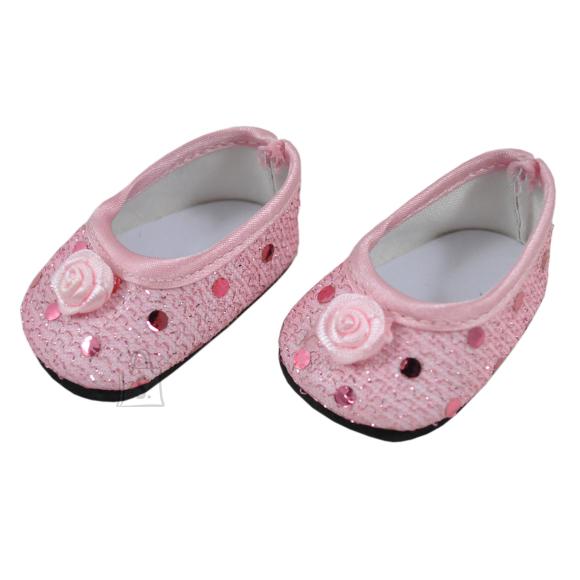Micki Nuku väikeõe kingad roosad