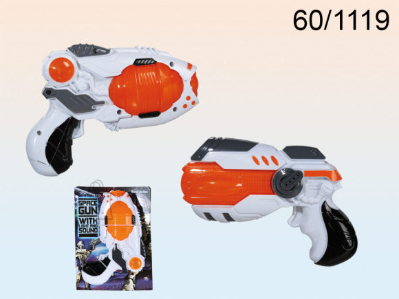 OOTB Püstol heli-ja valgusefektiga 15cm.