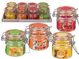 OOTB Lõhnaküünal kaanega purgis (jõhvikas, mesi/melon, greip ja sidrun) 8x8cm