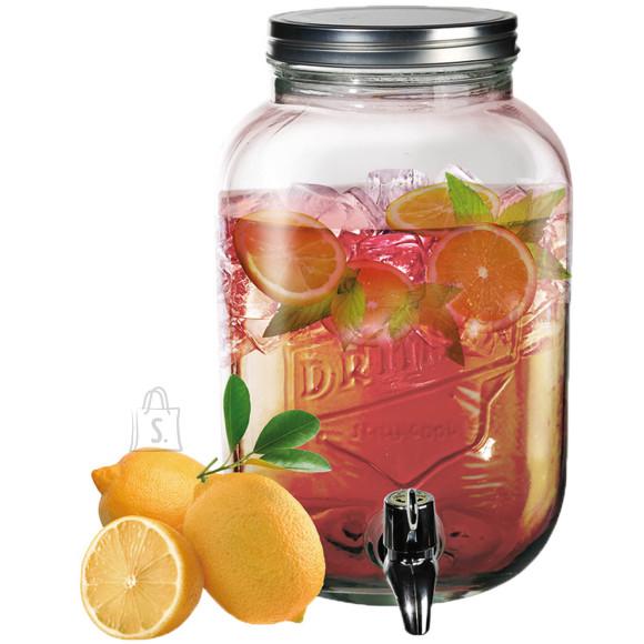 OOTB Klaaspurk kraaniga, 3,5l, Vintage Jar