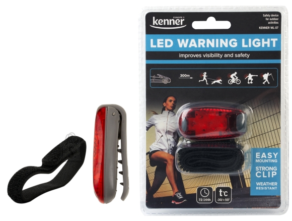 DP LED hoiatustuli, punane