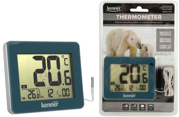 Kenner Kenner välis- ja sisetermomeeter(1,4m kaabel) EOL