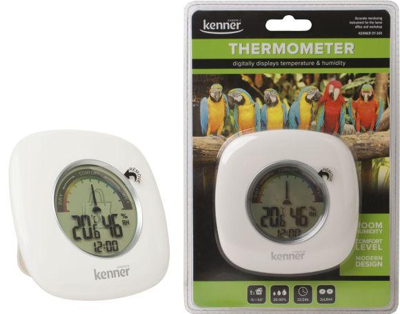 Kenner Kenner sisetermomeeter/hügromeeter/kell