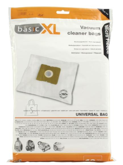 BasicXL Basic XL Micro tolmuimejakotid, sobivus üle 51 kaubamärgi 10tk + 1 filter