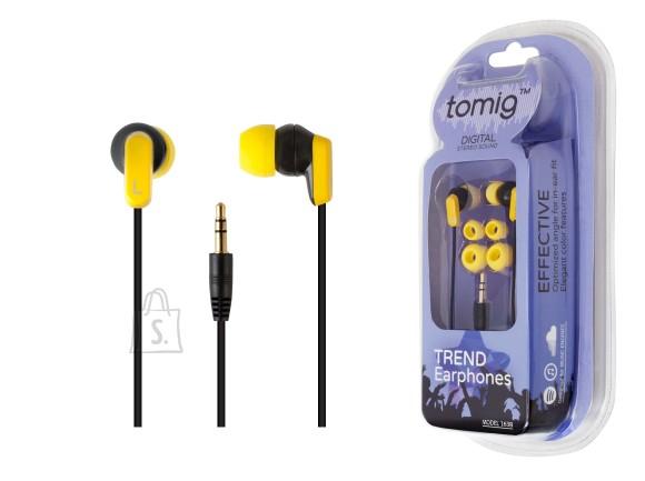 Tomig Tomig kõrvaklapid Trend ,must/kollane