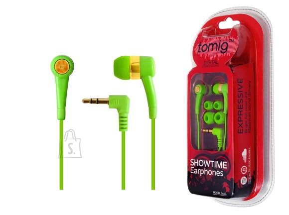 Tomig Tomig kõrvaklapid Showtime, rohelised