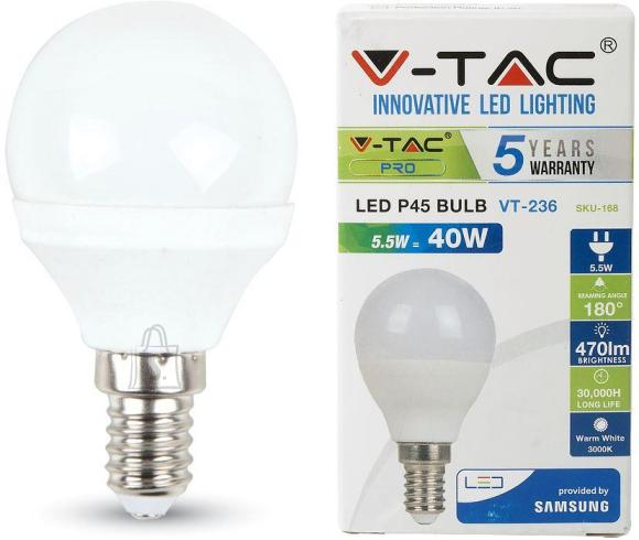 V-Tac LED lamp E14/5,5W/470lm/Globe