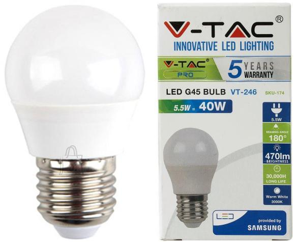 V-Tac LED lamp E27/5,5W/470lm/Globe