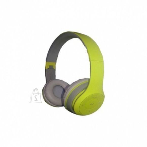 Havit Kõrvaklapid Bluetooth,suured, rohelised