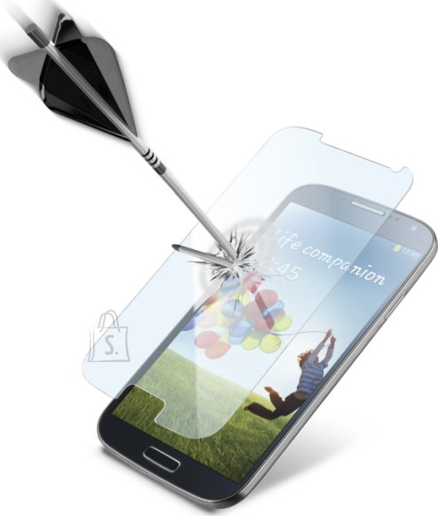 Cellularline Cellular Samsung Galaxy S4 ekraanikaitse, Second Glass, 0,3mm EOL